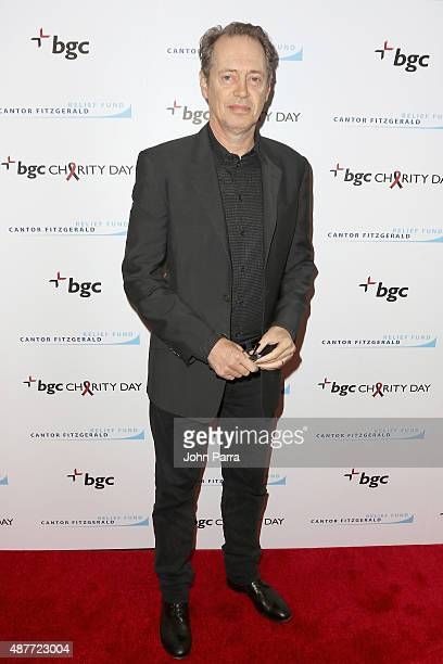 Steve Buscemi attends Annual Charity Day hosted by Cantor Fitzgerald and BGC at BGC Partners INC on September 11 2015 in New York City