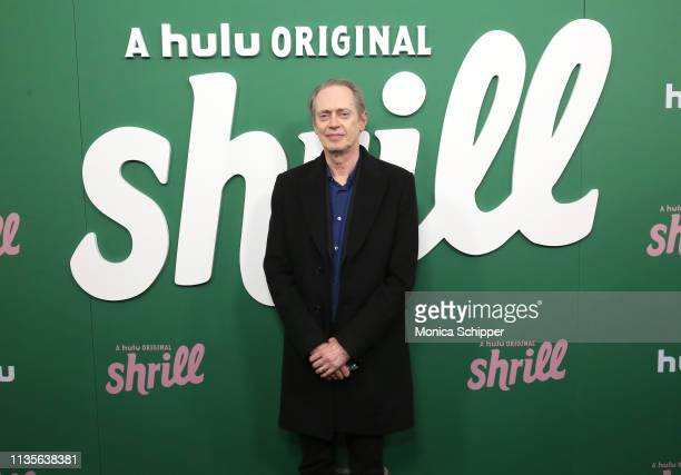 Steve Buscemi attends Hulu's Shrill New York Premiere at Film Society of Lincoln Center Walter Reade Theater on March 13 2019 in New York City