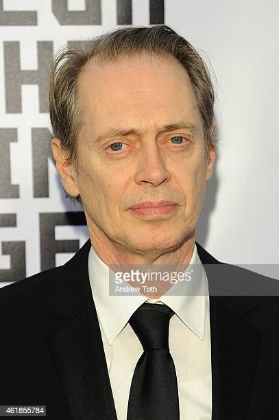 Steve Buscemi attends Museum of the Moving Image honors Julianne Moore at 583 Park Avenue on January 20 2015 in New York City