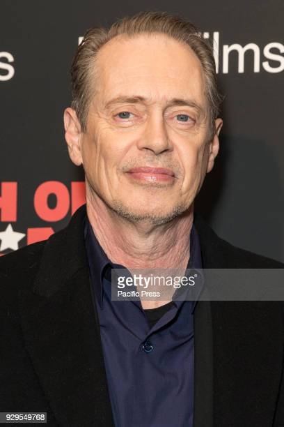Steve Buscemi attends New York premiere of IFC Film Death of Stalin at AMC Lincoln Square