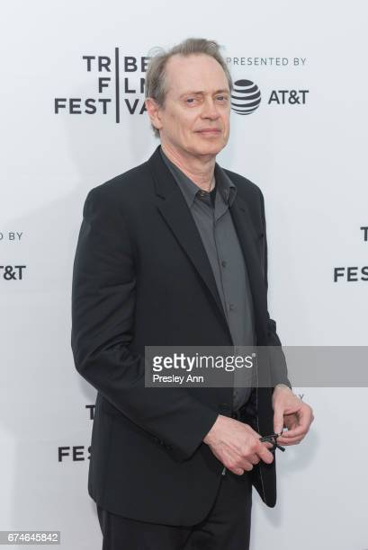 Steve Buscemi attends Reservoir Dogs 25th Anniversary Screening during the 2017 Tribeca Film Festival at Beacon Theatre on April 28 2017 in New York...