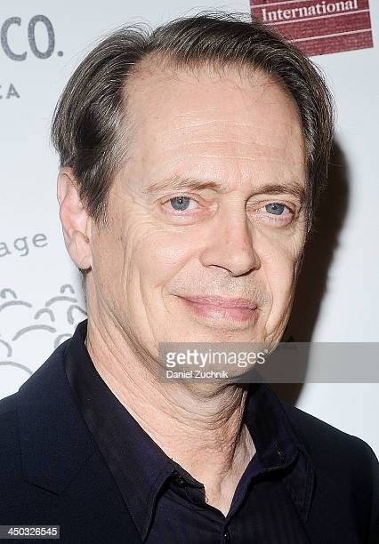 Steve Buscemi attends the 2013 New York Stage And Film Gala at The Plaza Hotel on November 17 2013 in New York City
