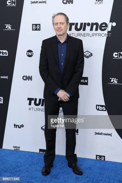 Steve Buscemi attends the 2018 Turner Upfront at One Penn Plaza on May 16 2018 in New York City