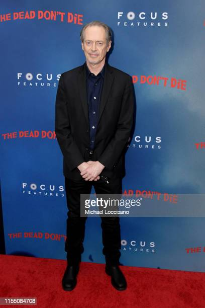 Steve Buscemi attends The Dead Don't Die New York Premiere at Museum of Modern Art on June 10 2019 in New York City