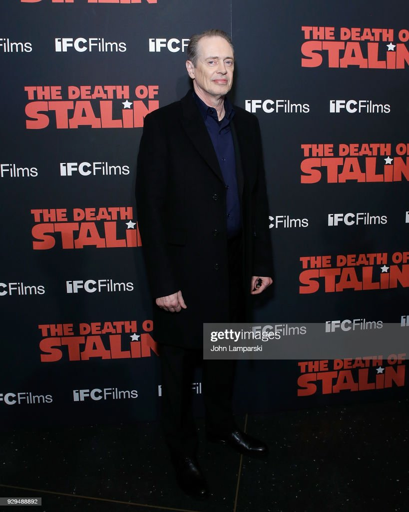 Steve Buscemi attends 'The Death Of Stalin' New York premiere at AMC Lincoln Square Theater on March 8, 2018 in New York City.