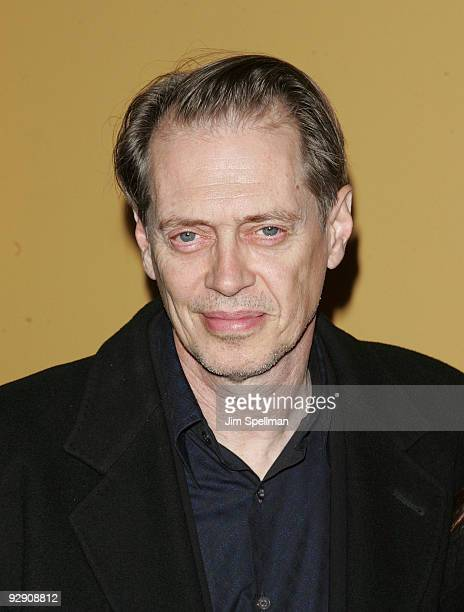 Steve Buscemi attends The Messenger Premiere at Clearview Chelsea Cinemas on November 8 2009 in New York City
