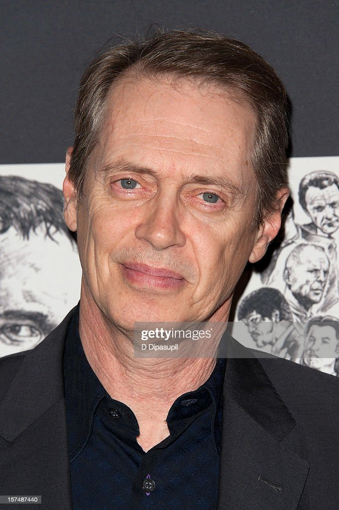 Steve Buscemi attends the Museum of Modern Art film benefit honoring Quentin Tarantino on December 3, 2012 in New York City.