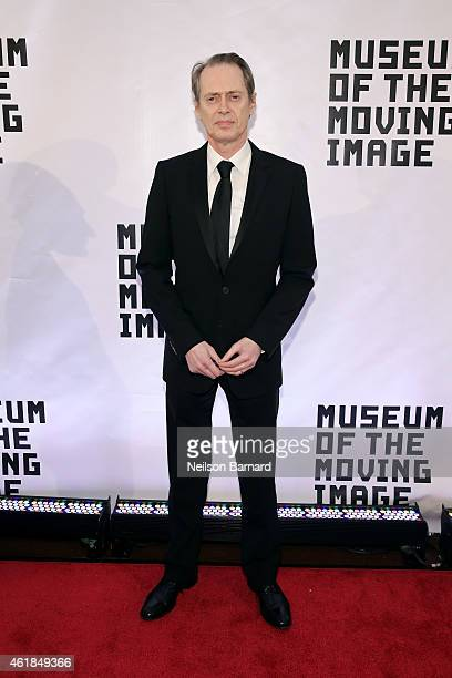 Steve Buscemi attends the Museum of The Moving Image honors Julianne Moore at 583 Park Avenue on January 20 2015 in New York City