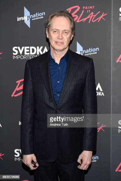 Steve Buscemi attends the Paint It Black New York premiere at The Museum of Modern Art on May 15 2017 in New York City