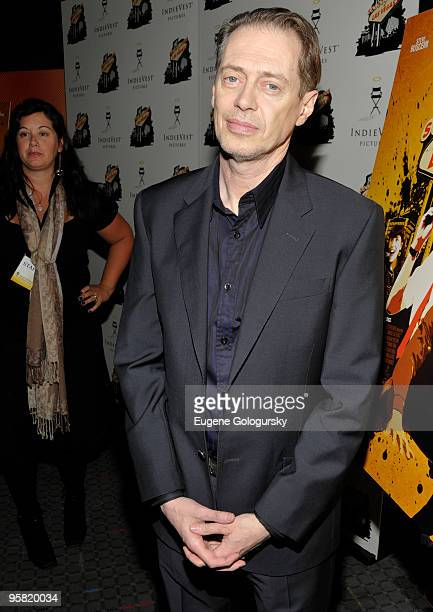 Steve Buscemi attends the ''Saint John of Las Vegas'' premiere at the SVA Theater on January 16 2010 in New York City
