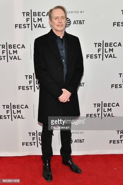 Steve Buscemi attends the screening of In The Soup during the 2018 Tribeca Film Festival at SVA Theatre on April 24 2018 in New York City