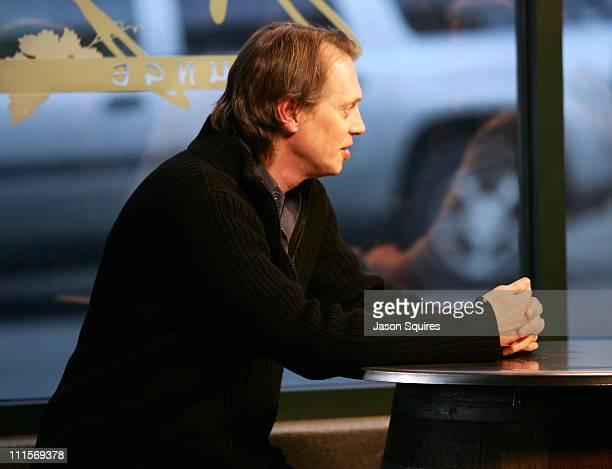 Steve Buscemi during 2005 Park City Seen Around Town Day 5 at Park City in Park City Utah United States