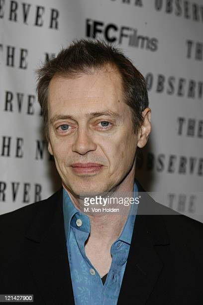 Steve Buscemi during 'Lonesome Jim' NY Premiere Arrivals at Clearview Chelsea Cinemas in New York New York United States