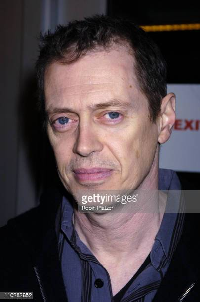 Steve Buscemi during Sorry Haters New York City Premiere Arrivals at The IFC Center in New York New York United States
