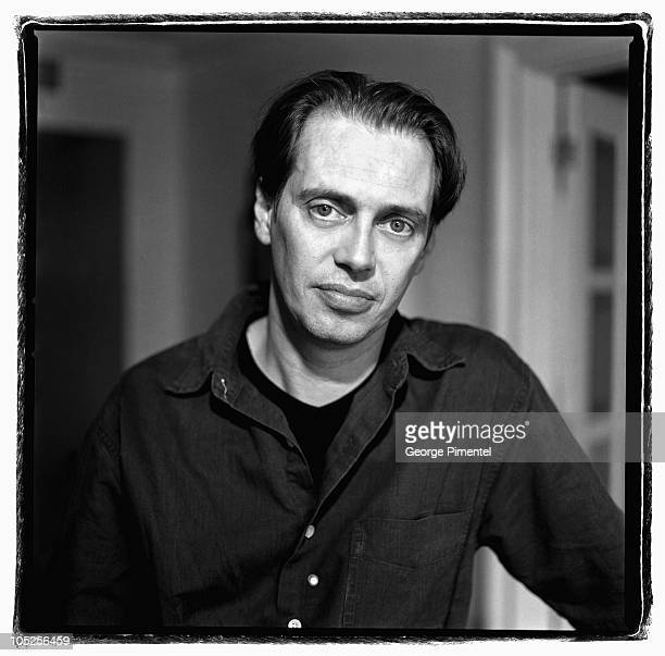 Steve Buscemi during Steve Buscemi Self Assignment January 1 2002 at Steve Buscemi by George Pimentel in Toronto Ontario Canada