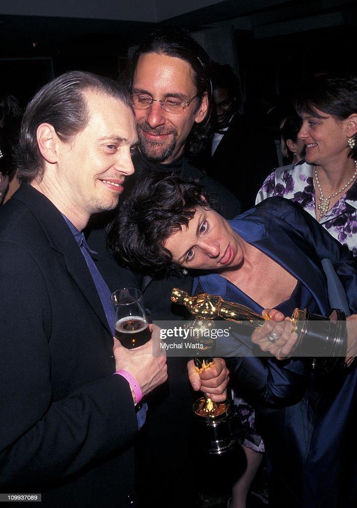 Steve Buscemi, Frances McDormand and husband Joel Coen