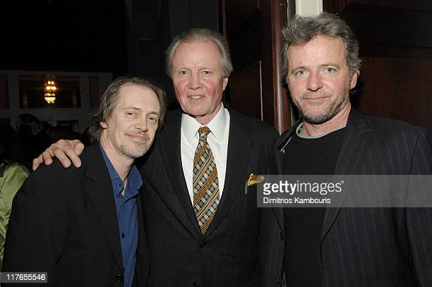 Steve Buscemi Jon Voight and Aidan Quinn during 'First Readings A Benefit For Studio Dante' Presented by Architectural Digest at New York Historical...