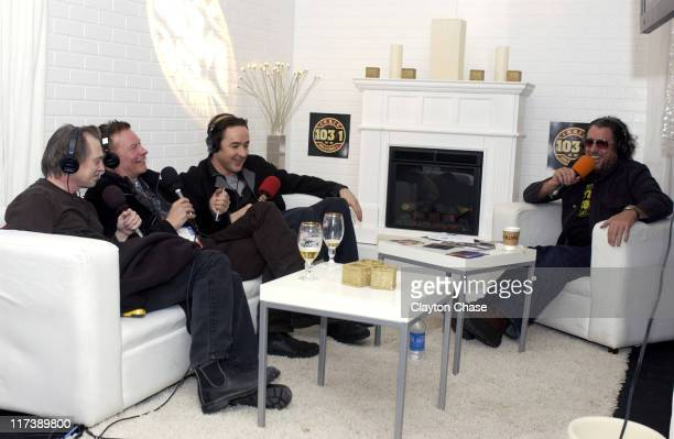 Steve Buscemi Julien Temple John Cusack and Steve Jones