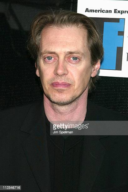 Steve Buscemi of Double Whammy during 2002 Tribeca Film Festival Double Whammy Roger Dodger Screening Exits at United Artists Battery Park City in...