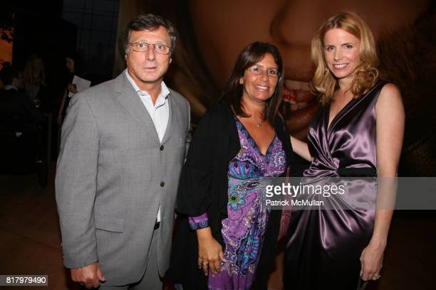 Steve Caputo Lynn Copper and Michelle Thorpe attend ALLURE'S annual Best of Beauty event at Jazz at Lincoln Center on September 13 2010 in New York...