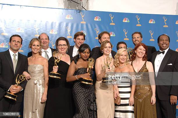 """Steve Carell and cast of """"The Office,"""" winner Outstanding Comedy Series"""