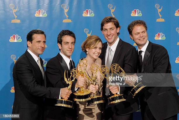 """Steve Carell and cast of """"The Office"""", winner Outstanding Comedy Series"""