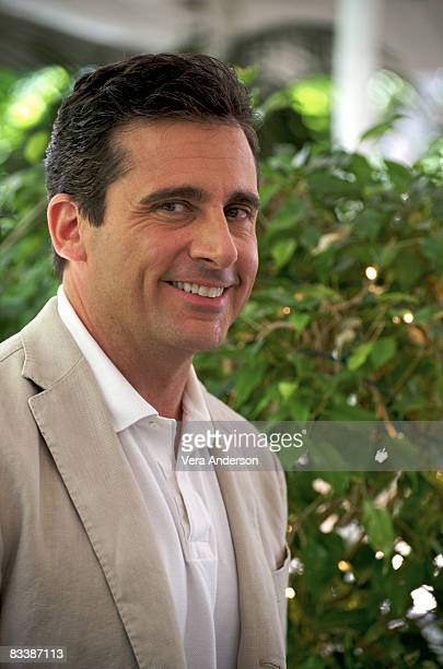 Steve Carell at the 'Get Smart' press conference at the Four Seasons Hotel on May 31 2008 in Beverly Hills California