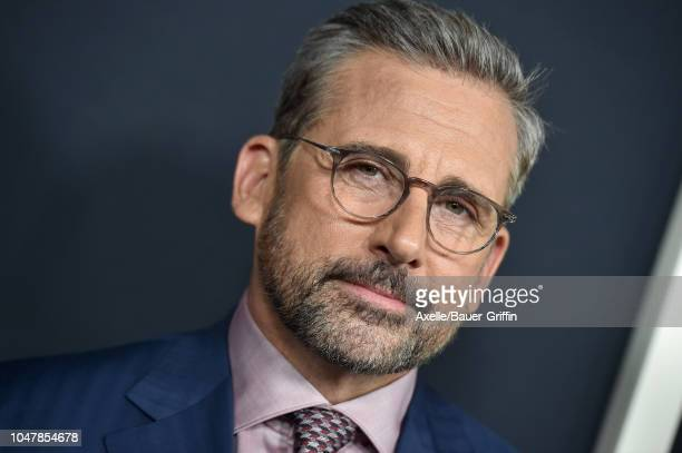 Steve Carell attends Amazon Studios of Angeles Premiere of 'Beautiful Boy' at Samuel Goldwyn Theater on October 8 2018 in Beverly Hills California
