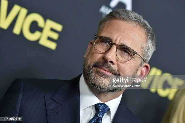 Steve Carell attends Annapurna Pictures Gary Sanchez Productions and Plan B Entertainment's World Premiere of 'Vice' at AMPAS Samuel Goldwyn Theater...