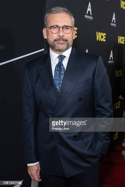 Steve Carell attends Annapurna Pictures Gary Sanchez Productions And Plan B Entertainment's World Premiere Of Vice at AMPAS Samuel Goldwyn Theater on...