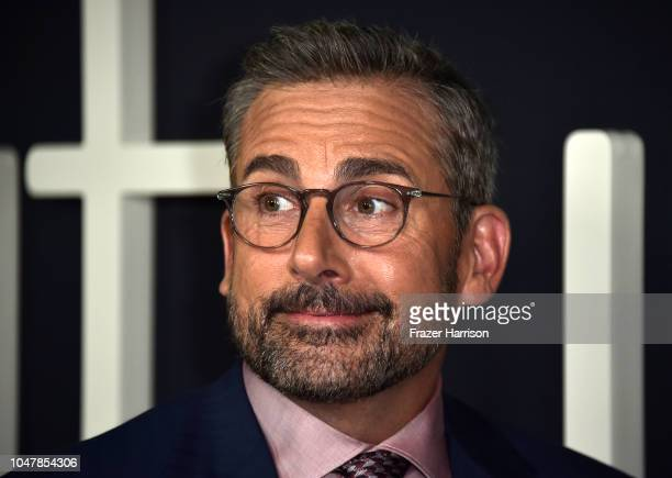 Steve Carell attends the Amazon Studios of Angeles Premiere of Beautiful Boy at Samuel Goldwyn Theater on October 8 2018 in Beverly Hills California