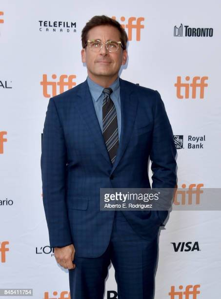 Steve Carell attends the 'Battle of the Sexes' premiere during the 2017 Toronto International Film Festival at Ryerson Theatre on September 10 2017...