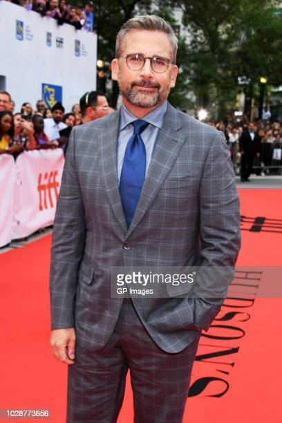 Steve Carell attends the Beautiful Boy premiere during 2018 Toronto International Film Festival at Roy Thomson Hall on September 7 2018 in Toronto...