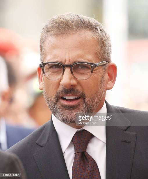 Steve Carell attends the ceremony honoring Alan Arkin with a Star on The Hollywood Walk of Fame held on June 07 2019 in Hollywood California