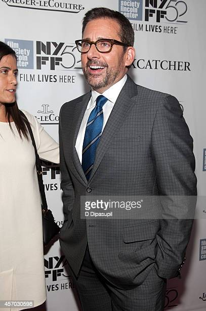 Steve Carell attends the 'Foxcatcher' premiere during the 52nd New York Film Festival at Alice Tully Hall on October 10 2014 in New York City