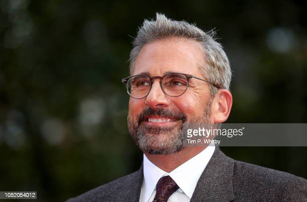 Steve Carell attends the UK Premiere of Beautiful Boy Headline gala during the 62nd BFI London Film Festival on October 13 2018 in London England