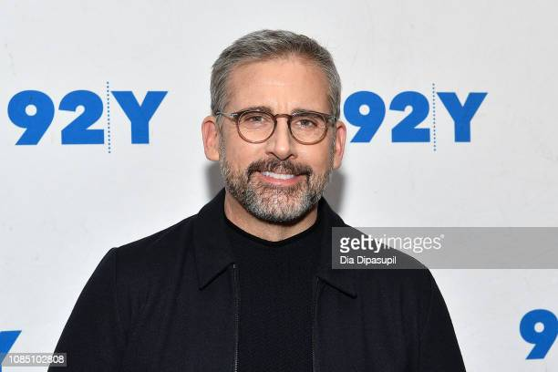 Steve Carell attends the Welcome to Marwen Screening Conversation with Steve Carell at 92nd Street Y on December 20 2018 in New York City