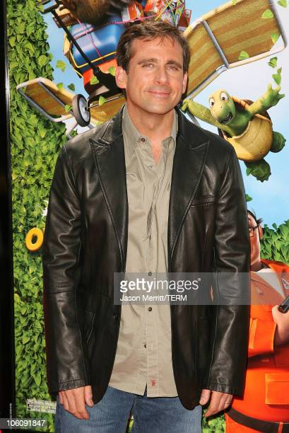 Steve Carell during Dreamworks' Over The Hedge Los Angeles Premiere Arrivals at Mann Village Theatre in Westwood California United States