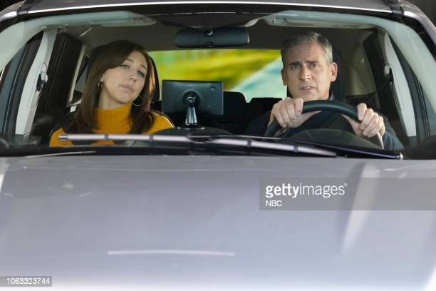LIVE Steve Carell Episode 1752 Pictured Heidi Gardner and host Steve Carell during the GPS sketch on Saturday November 17 2018