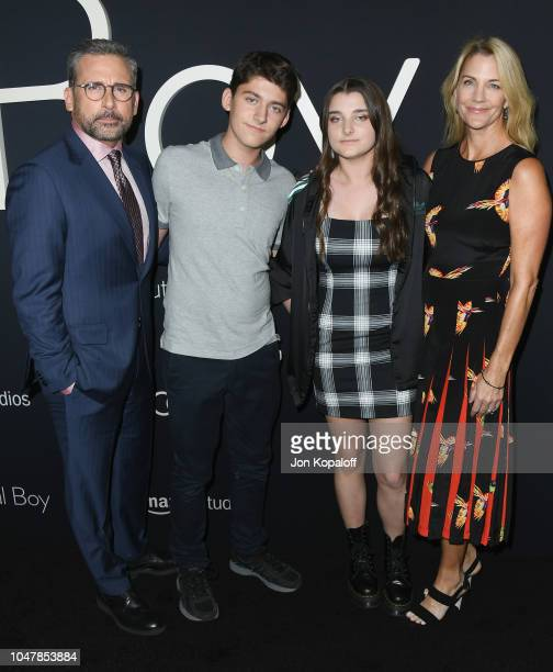 Steve Carell John Carell Elisabeth Anne Carell and Nancy Carell attend Amazon Studios of Angeles Premiere Of Beautiful Boy at Samuel Goldwyn Theater...