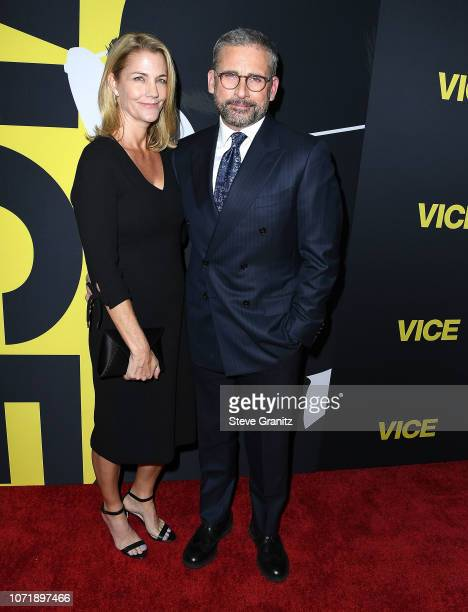 Steve Carell Nancy Carell arrives at the Annapurna Pictures Gary Sanchez Productions And Plan B Entertainment's World Premiere Of Viceat AMPAS Samuel...