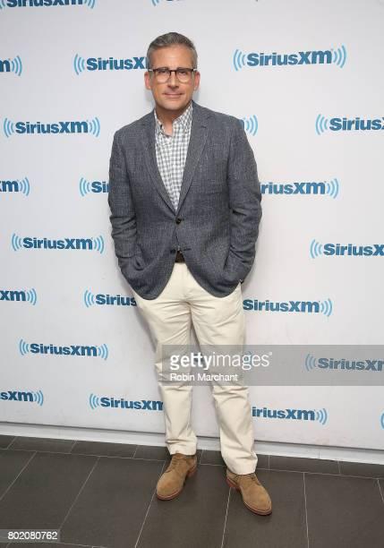 Steve Carell visits at SiriusXM Studios on June 27 2017 in New York City