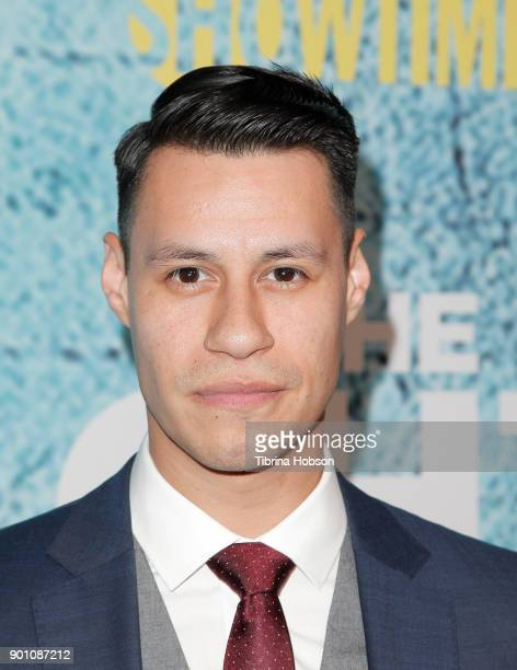 Steve Casillas attends the premiere of Showtime's 'The Chi' at Downtown Independent on January 3 2018 in Los Angeles California