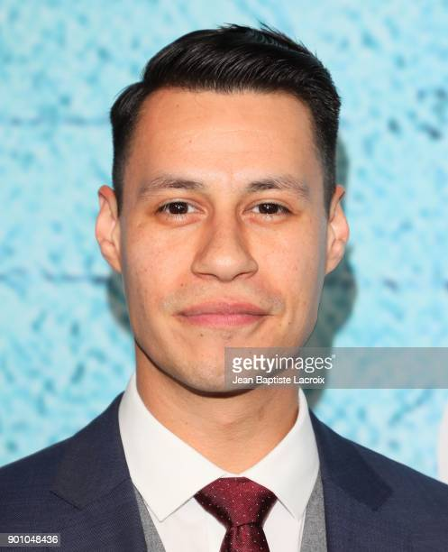 Steve Casillas attends the premiere of Showtime's 'The Chi' on January 03 2018 in Los Angeles California