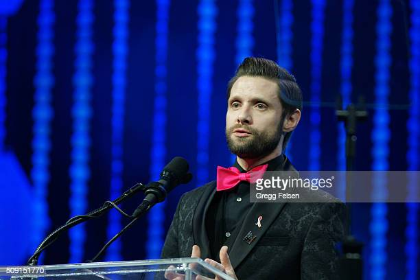 Steve Chase Honoree Daniel Pintauro attends 22nd Annual Steve Chase Humanitarian Awards on February 6 2016 in Palm Springs California