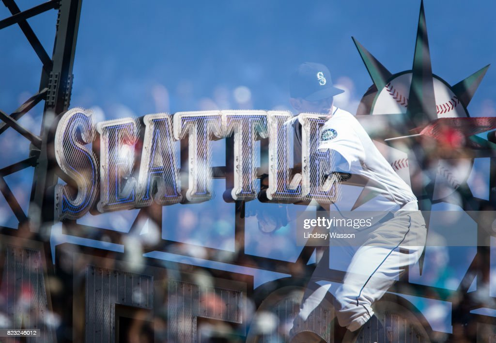 Steve Cishek #31 of the Seattle Mariners delivers a pitch against the Boston Red Sox in the ninth inning at Safeco Field on July 26, 2017 in Seattle, Washington.
