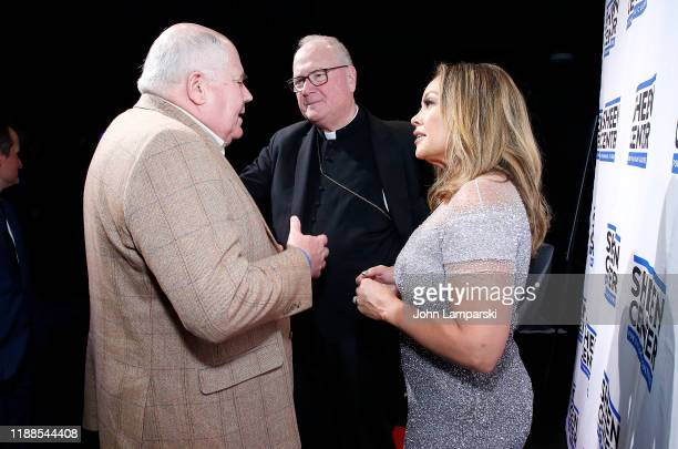 Steve Columbia Cardinal Timothy Dolan and Vanessa Williams attend Sheen Center presents Vanessa Williams Friends thankful for Christmas with guests...