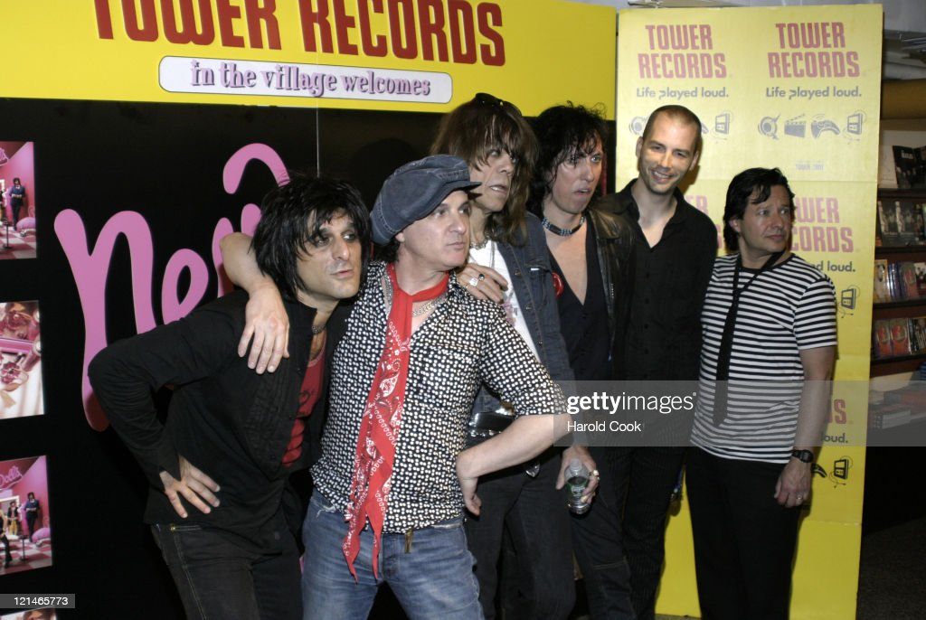 New York Dolls Performance and Signing at Tower Records in New York City - July