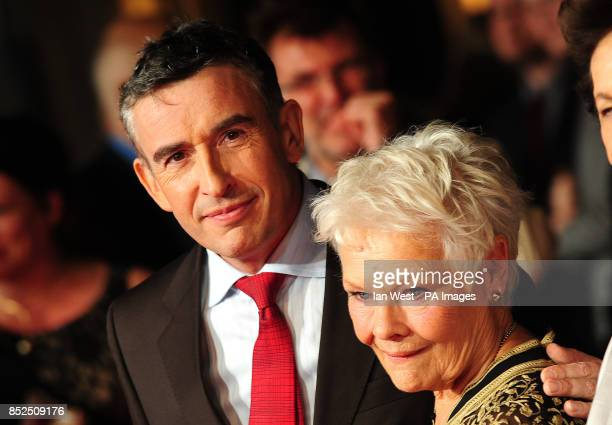 Steve Coogan and Dame Judi Dench attending a gala screening for new film Philomena at the Odeon Cinema in London