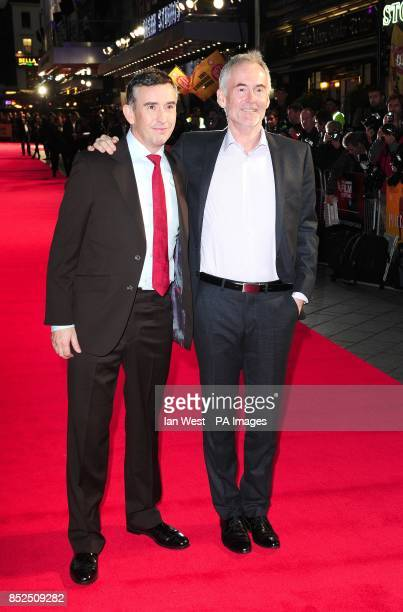 Steve Coogan and Martin Sixsmith attending a gala screening for new film Philomena at the Odeon Cinema in London